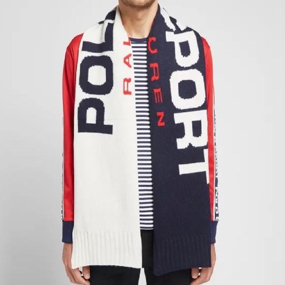 POLO RALPH LAUREN Polo Sport Color Block Scarf